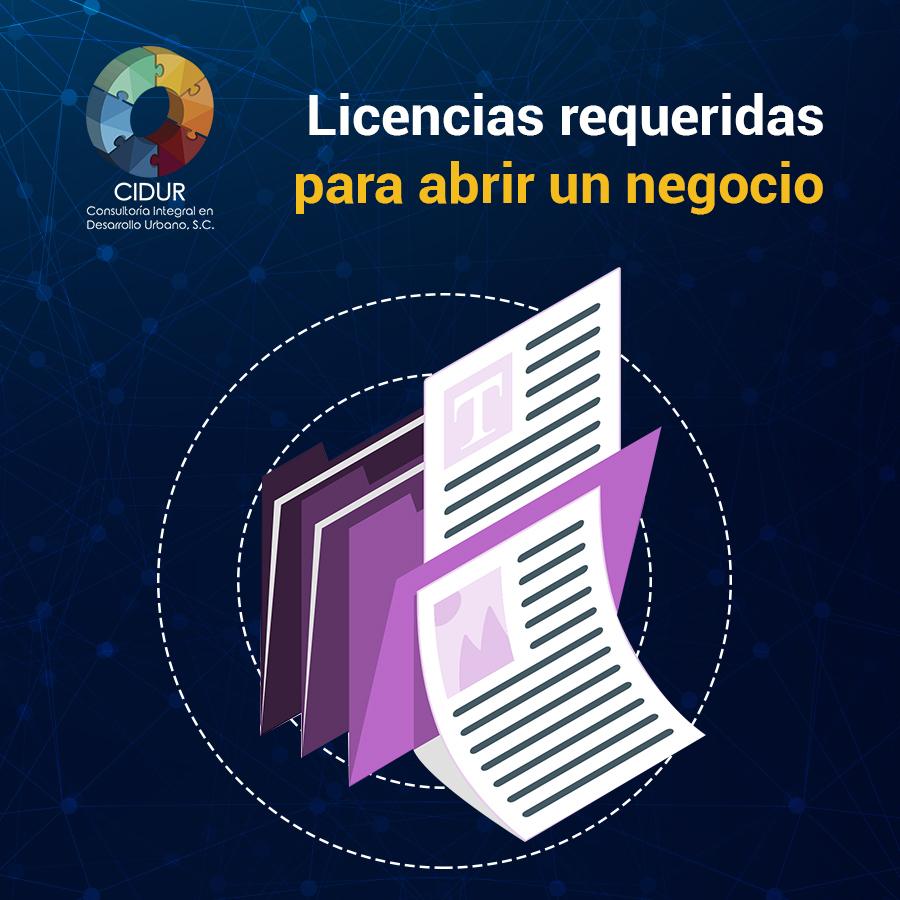 Licencias requeridas para un negocio