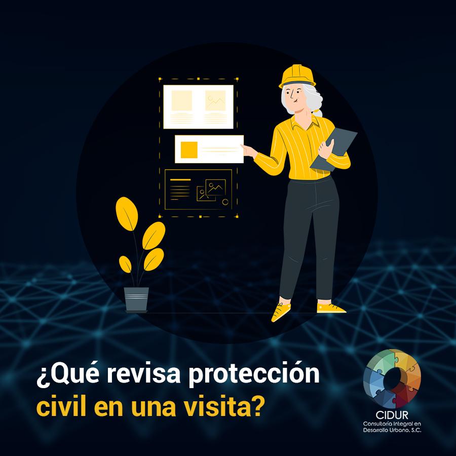 ¿Qué revisa protección civil?